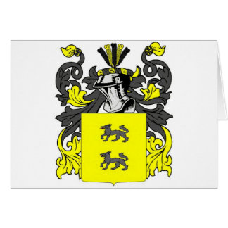 Lopez (Spanish) Coat of Arms Card