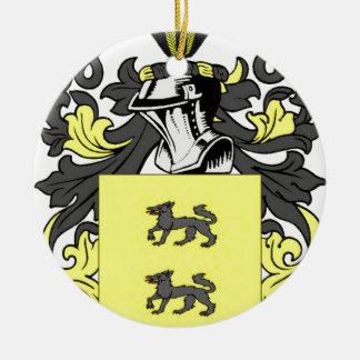 Lopez (Spanish) Coat of Arms Ceramic Ornament
