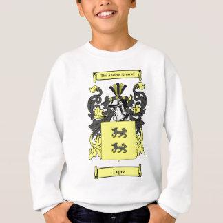Lopez (Spanish) Coat of Arms Sweatshirt