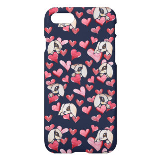 Lops of Love Rabbit Hearts iPhone 7 Case