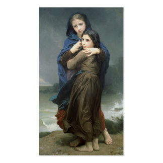 L'Orage (The Storm) William-Adolphe Bouguereau Business Card Template
