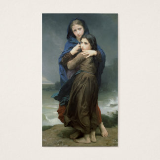L'Orage (The Storm) William-Adolphe Bouguereau Business Card