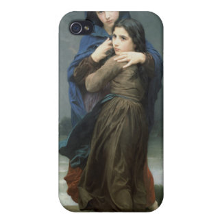 L'Orage (The Storm) William-Adolphe Bouguereau iPhone 4/4S Cover
