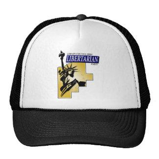 Lorain County Libertarian Party Logo Trucker Hat
