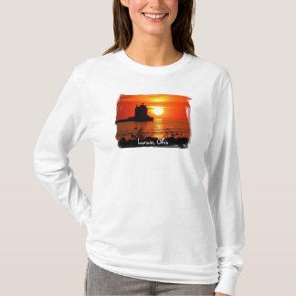 Lorain lighthouse women's hoody