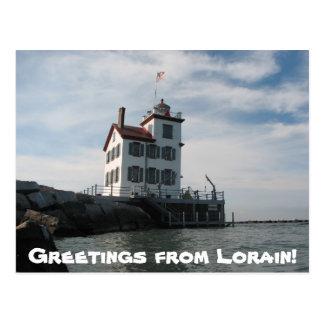 Lorain postcard