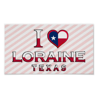Loraine, Texas Posters