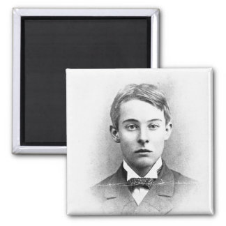 Lord Alfred Douglas 2 Inch Square Magnet