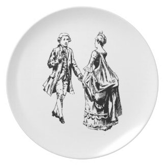 Lord and Lady Plate