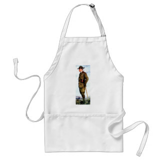 Lord Baden-Powell - Scouting Founder Adult Apron