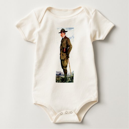 Lord Baden-Powell - Scouting Founder Baby Bodysuit
