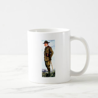 Lord Baden-Powell - Scouting Founder Coffee Mug