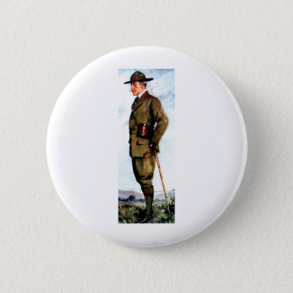 Lord Baden-Powell - Scouting Founder Pinback Button
