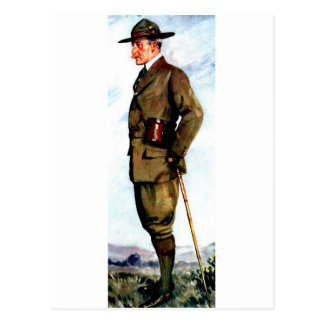 Lord Baden-Powell - Scouting Founder Postcard