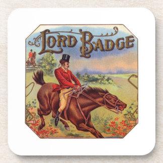 Lord Badge Beverage Coasters