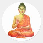 Lord Buddha Classic Round Sticker
