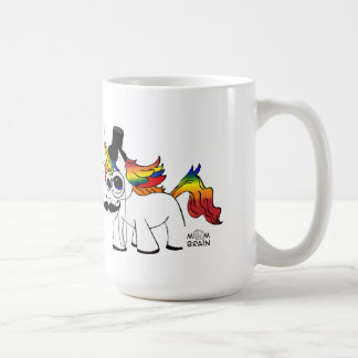 Lord Burgess Atwood's Magical Unicorn Coffee Classic White Coffee Mug