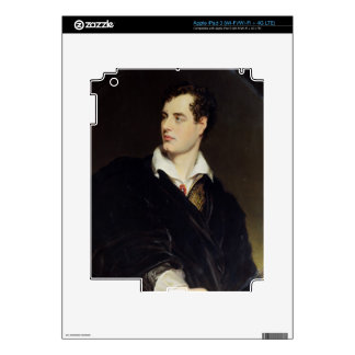 Lord Byron after a Portrait painted by Thomas Phil Decal For iPad 3
