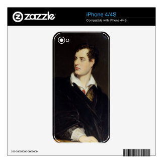 Lord Byron after a Portrait painted by Thomas Phil iPhone 4 Skins