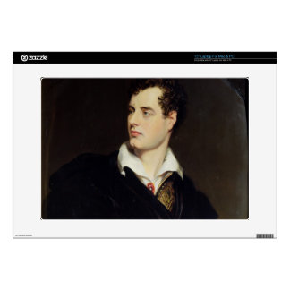 Lord Byron after a Portrait painted by Thomas Phil Laptop Decal