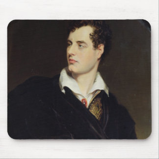 Lord Byron after a Portrait painted by Thomas Phil Mouse Pad