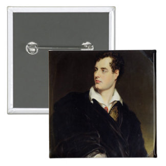 Lord Byron after a Portrait painted by Thomas Phil Pinback Button