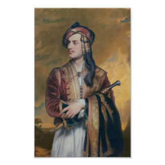 Lord Byron Poster