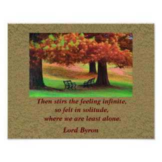Lord Byron quote - art print