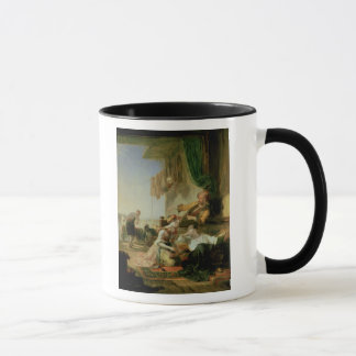 Lord Byron reposing in the house Mug