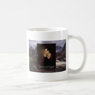 "Lord Byron ""Sweet Voice"" Love Quote Gifts Tees Etc Coffee Mug"