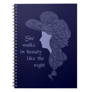 Lord Byron's Lady Spiral Notebooks