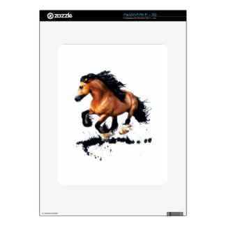 Lord Creedence Gypsy Vanner Horse iPad Skin