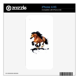 Lord Creedence Gypsy Vanner Horse iPhone 4S Skin