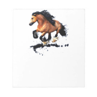Lord Creedence Gypsy Vanner Horse Notepad