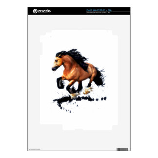 Lord Creedence Gypsy Vanner Horse Skins For The iPad 2