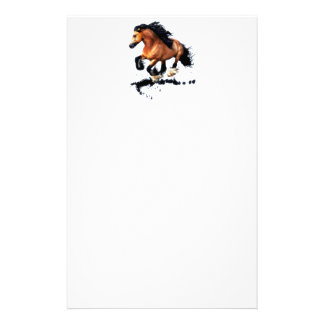 Lord Creedence Gypsy Vanner Horse Stationery