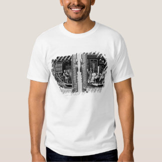 Lord Cromwell presents the bible to Henry VIII T-shirt