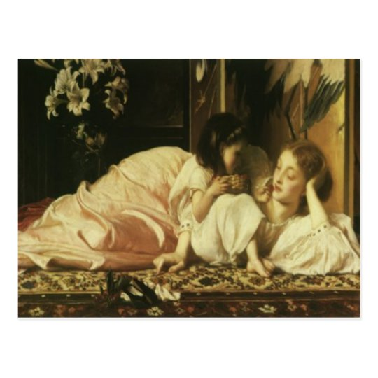 Lord Frederic Leighton Mother & Child Mother's Day Postcard