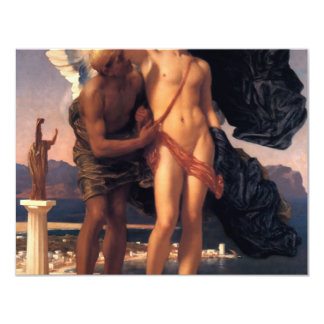 "Lord Frederick Leighton 4.25"" X 5.5"" Invitation Card"