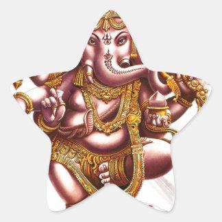 Lord Ganesa Star Stickers