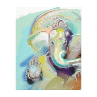 Lord Ganesh Art Canvas Canvas Print