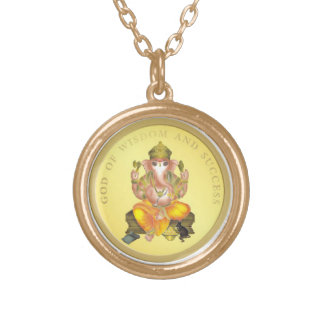 LORD GANESH COLORED PENDANT