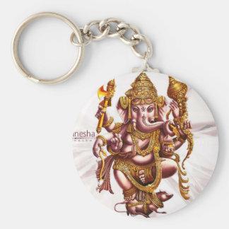 Lord Ganesh Good Luck Charm Keychain
