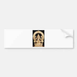 LORD GANESH HINDU GOD BUMPER STICKER