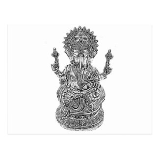 Lord Ganesh Postcard
