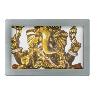 Lord Ganesh Rectangular Belt Buckle