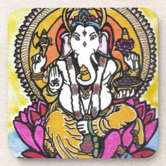 Lord Ganesha Beverage Coaster