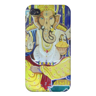 Lord Ganesha Fresco iPhone 4/4S Cases