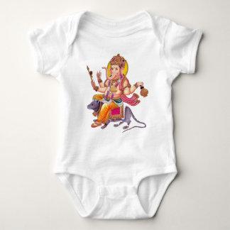 LORD GANESHA - Ganapati, Vinayaka, and Pillaiyar Baby Bodysuit