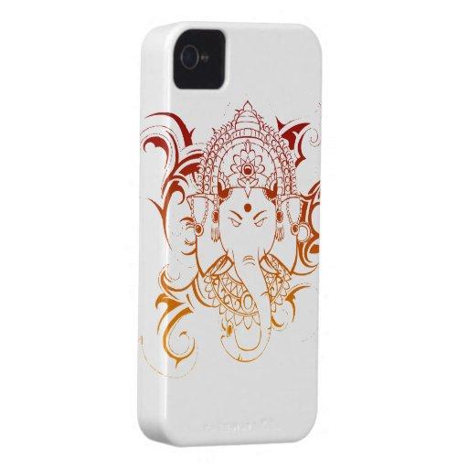 Lord Ganesha India Yoga Meditation Spirituality iPhone 4 Covers